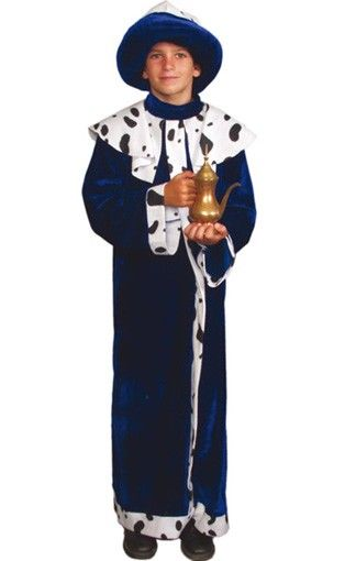 Costume re magio Gaspare bambino #PresepeVivente #Natale #Natale2016 #VergineMaria #Gesù #CostumeVergine