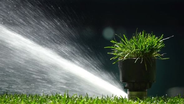 Soccer or Football Field Irrigation System of Automatic Watering Grass