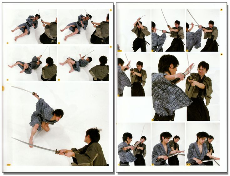 Sword Fight Reference Real Action Pose Collection