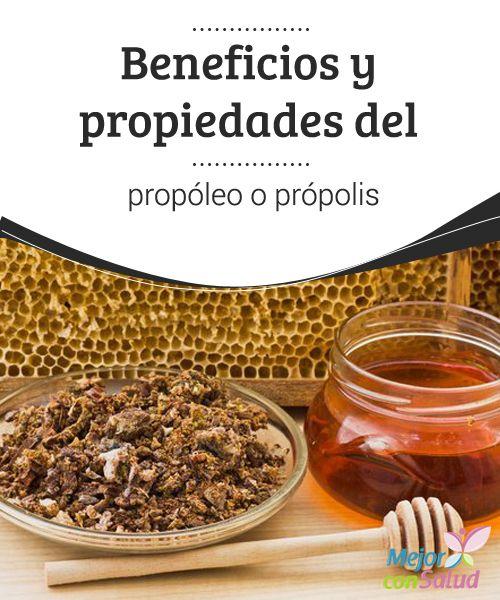 Beneficios y propiedades del propóleo o própolis El própolis o propóleo es una sustancia que fabrican las abejas y que tiene interesantes propiedades antisépticas, antivirales y antiinflamatorias.