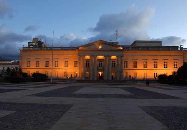 Colombia's presidential palace, Casa de Nariño