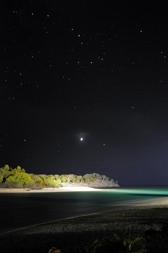 Sand and stars at InterContinental Fiji