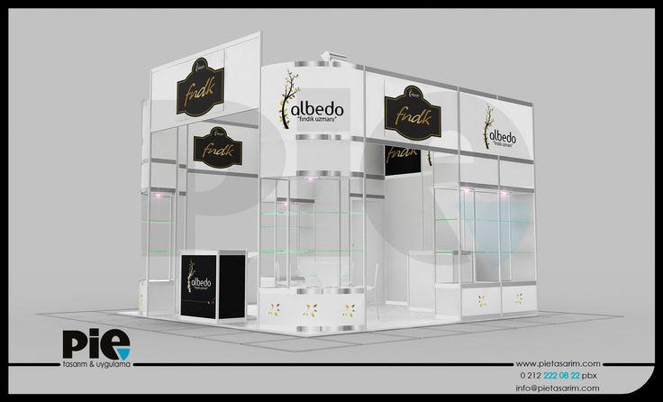 WorldFood Fuarı ''ALBEDO'' Stand Tasarımımız