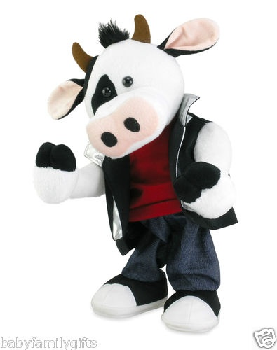 Cuddle Barn Animated Moos Like Jagger Singing and Dancing Moves Song Cow $28.00 Sold at Baby Family Gifts Ebay  #dancingcow #toy #kids #ebay #cuddlebarn #girls #boys #littlekids #dance #play
