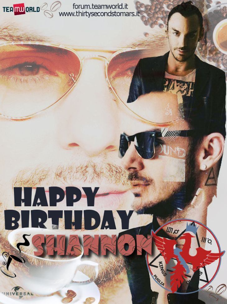 Happy B-Day Shannon Leto 2014