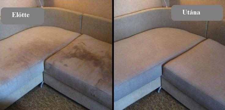 Így tisztítsd ki a foltos kanapét egy könnyen elkészíthető házi tisztítószerrel