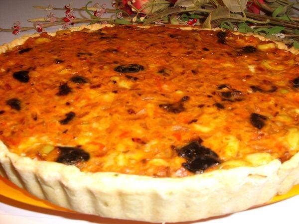 recette Tarte aux olives : Recette tarte, Cuisine Femme Zoom, Recettes de cuisine ...