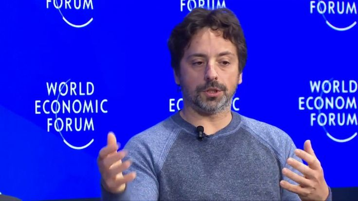 "Davos 2017 - Sergey Brin: ""I feel like the luddite in the room."" Means chill out on technological unemployment. https://youtu.be/XzkUAxtEQXE"