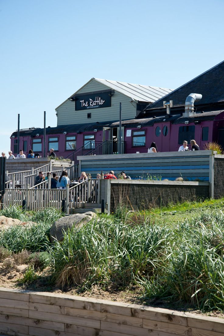 The Rattler Bar & Restaurant sits on South Shields sea front on the very spot where the old mining train rattled past connecting South Shields to Whitburn.