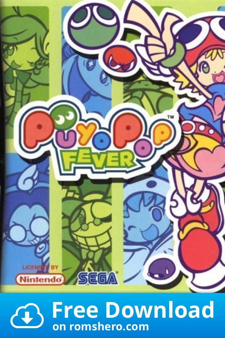 Download Puyo Pop Fever Nintendo Ds Nds Rom In 2020 With