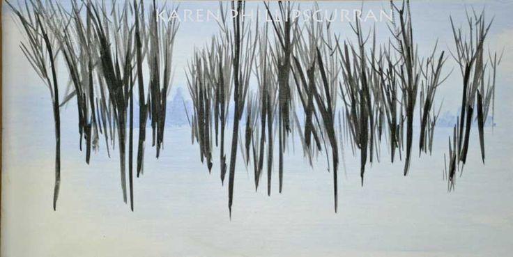Winter Trees 12x24 $390