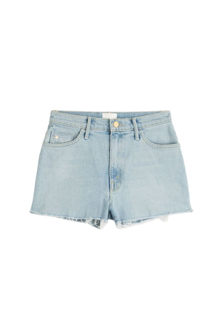 Candice Swanepoel by Mother - The Swooner Fray Shorts in The Angel With 100 Wings
