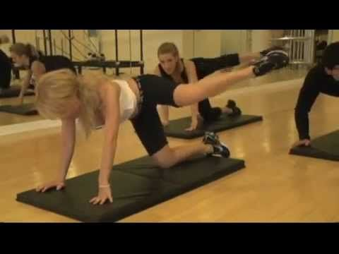 Tracy Anderson Connect Butt and Thighs Workout
