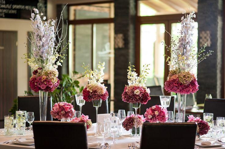 Asztaldekor modern esküvőre