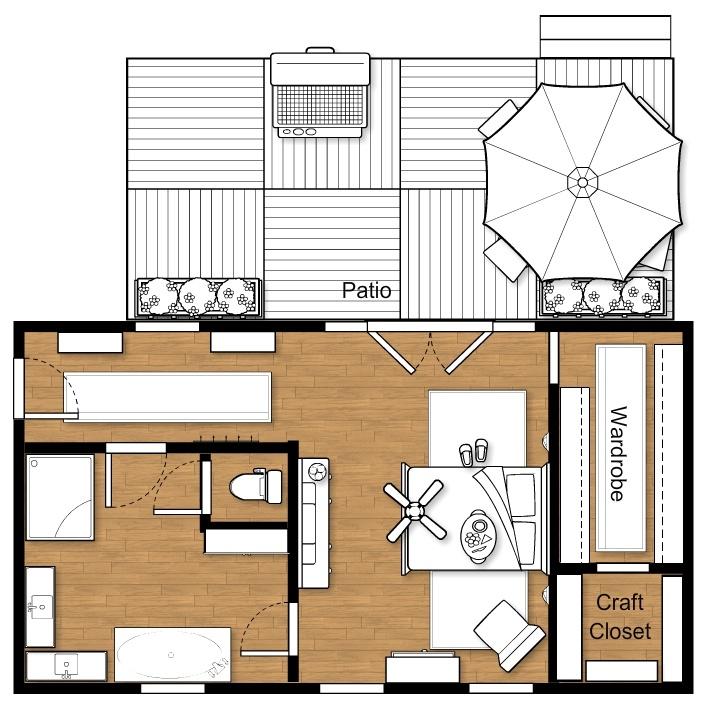 Master Bedroom Suite Floor Plans