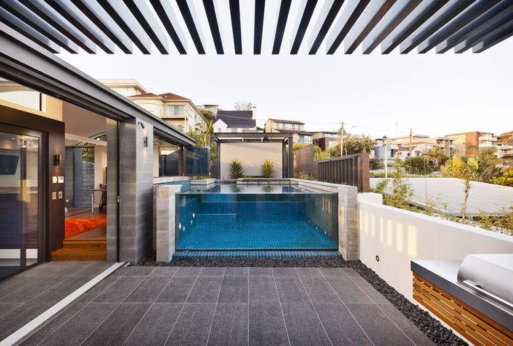 Pool Windows installed to a rooftop apartment www.poolwindows.com.au