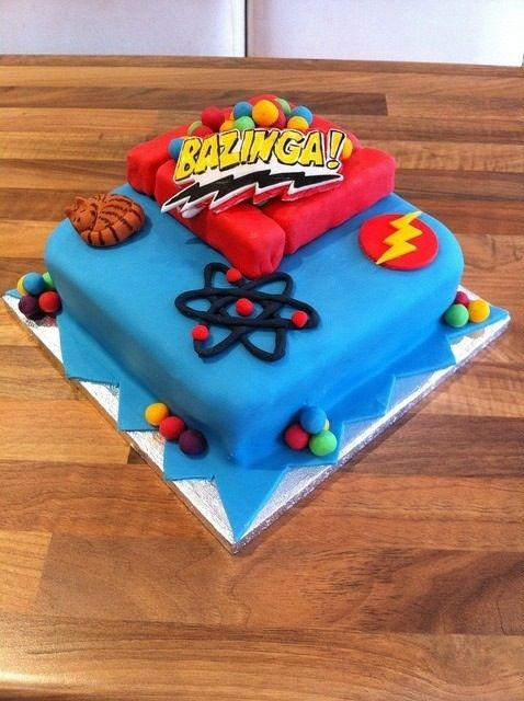 13 Best Images About Big Bang Theory Cakes On Pinterest