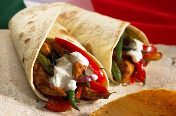 Fajitas di pollo Improvvisare una festa messicana trovate la miscela su Spezieonline.it