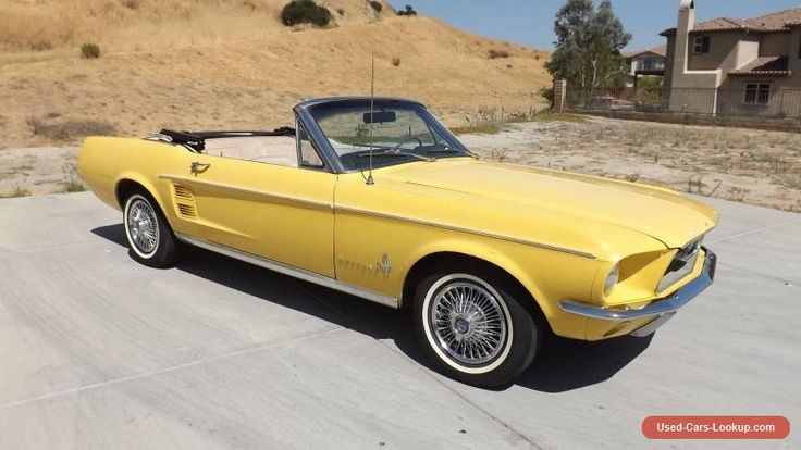 1967 Ford Mustang SPORTS CONVERTIBLE #ford #mustang #forsale #unitedstates