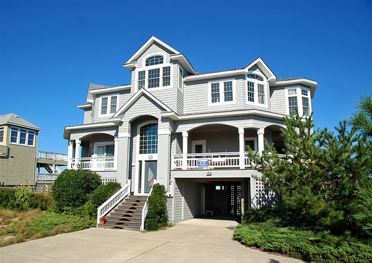 Twiddy Outer Banks Vacation Home April Sunrise Corolla Oceanfront 6 Bedrooms Beach