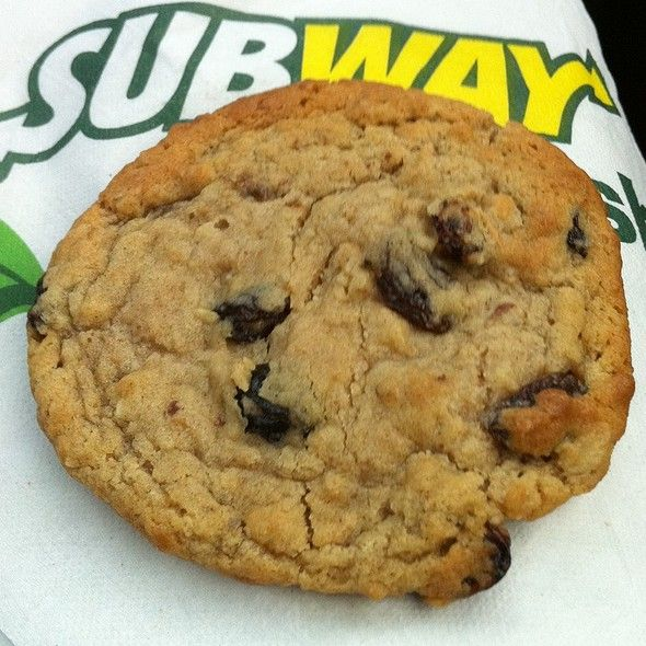 Subway Oatmeal Raisin Cookies Recipe