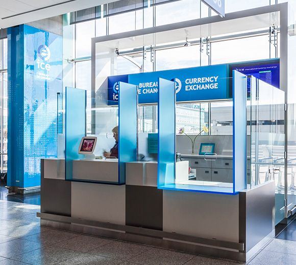 LEMAYMICHAUD | INTERIOR DESIGN | ARCHITECTURE | MONTREAL AIRPORT | Kiosques ICE – Aéroports Montréal-Trudeau