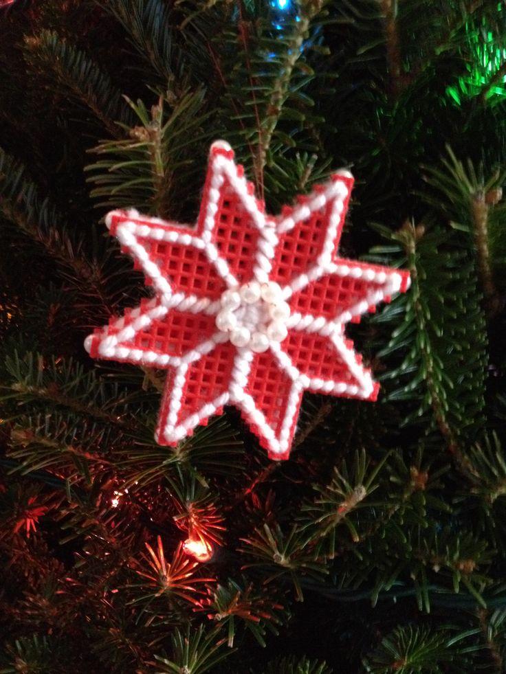 17 Best Images About Christmas Ornaments Plastic Canvas