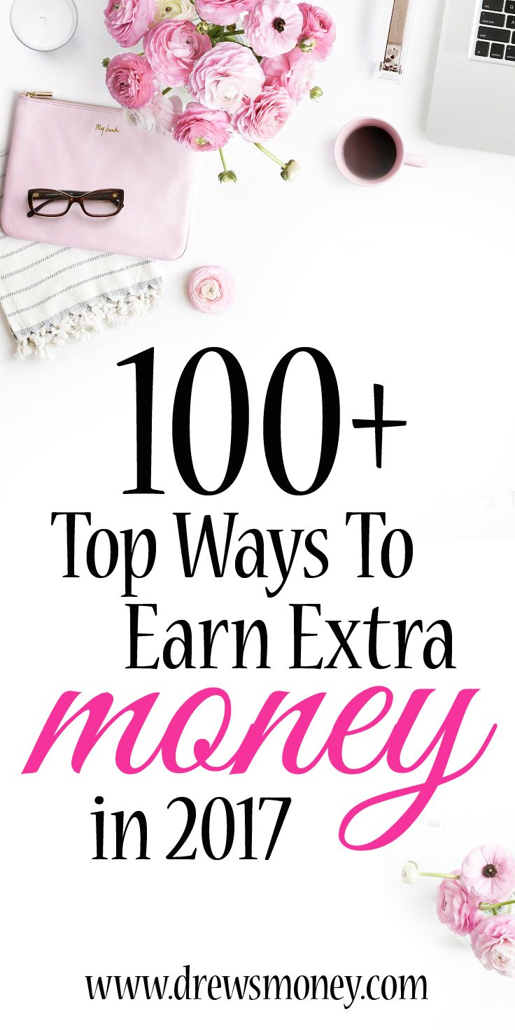My Epic List of 100+ Top Ways to Earn Extra Money. Many times you will hear in life that money is not everything. Well I am hear to tell you that money is still very important to your freedom in this life. You can either let money control you or you can have it support you and help set you into financial freedom.