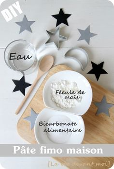 Cette année avec les enfants, nous avons décidé de fabriquer quelques décorations pour le sapin en pâte durcissante naturelle,en...