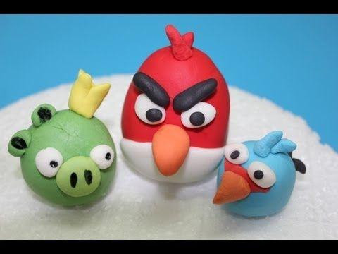 Cómo modelar figuras en fondant: Angry Birds HV: fondant massza ételfestékek Vásárolj meg mindent egy helyen a GlazurShopban! http://shop.glazur.hu