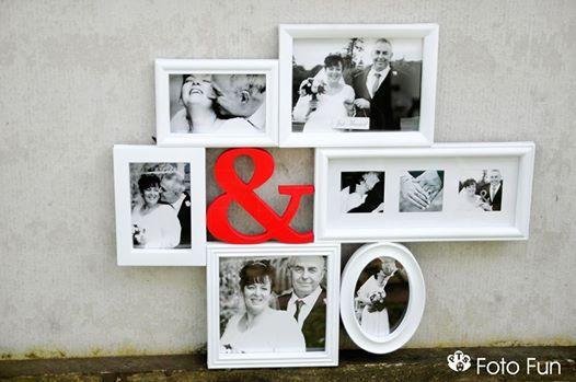 Framed option, Julie-Anne  & Alan´s Wedding