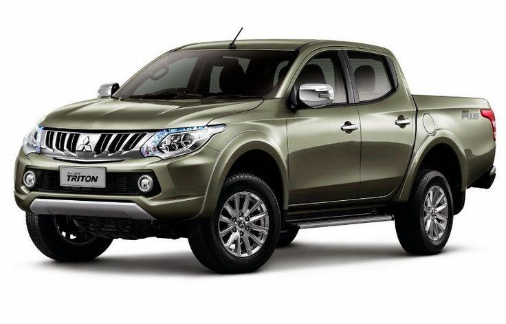 BmotorWeb: Nova Mitsubishi L200 Triton chega na Tailândia