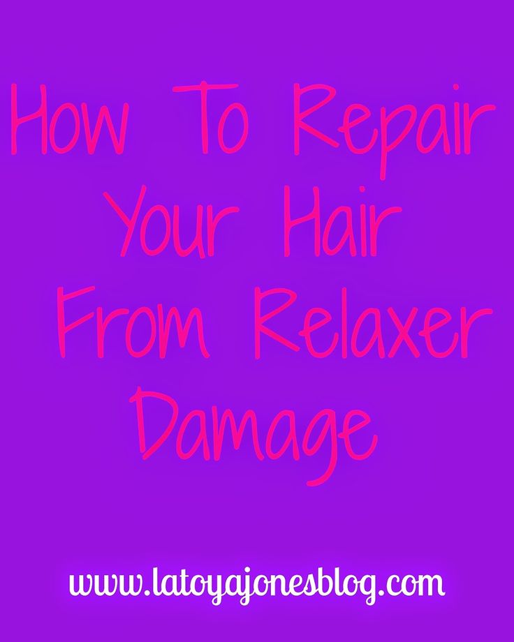 How to repair your hair from relaxer damage. (www.latoyajonesblog.com)