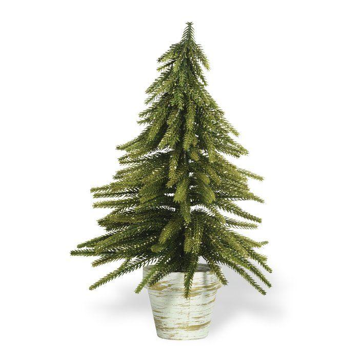 Fir Desktop Cedar Tree In Pot Potted Trees Faux Plants And Trees Cedar Trees