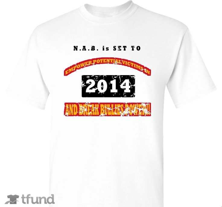 Check out Nations Against Bullying Fundraiser fundraiser t-shirt. Buy one & share it to help support the campaign!