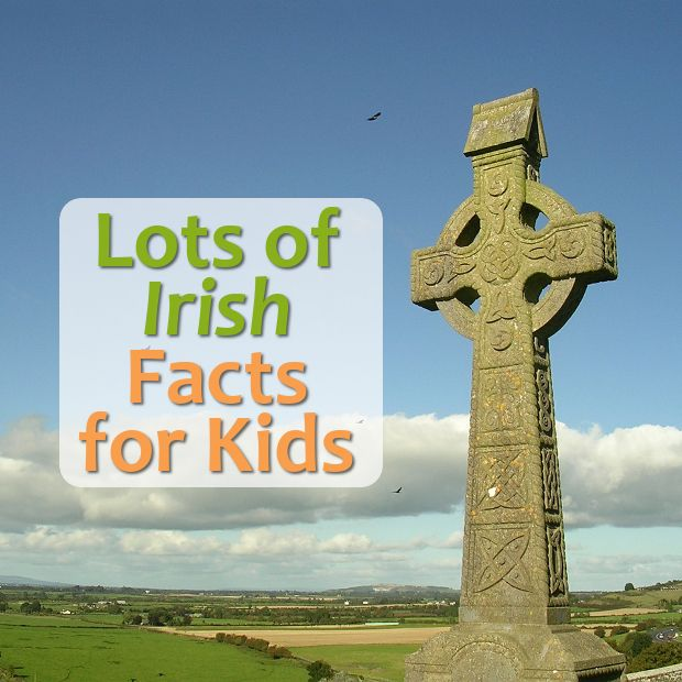 Lots of Irish Facts and Information designed for Kids
