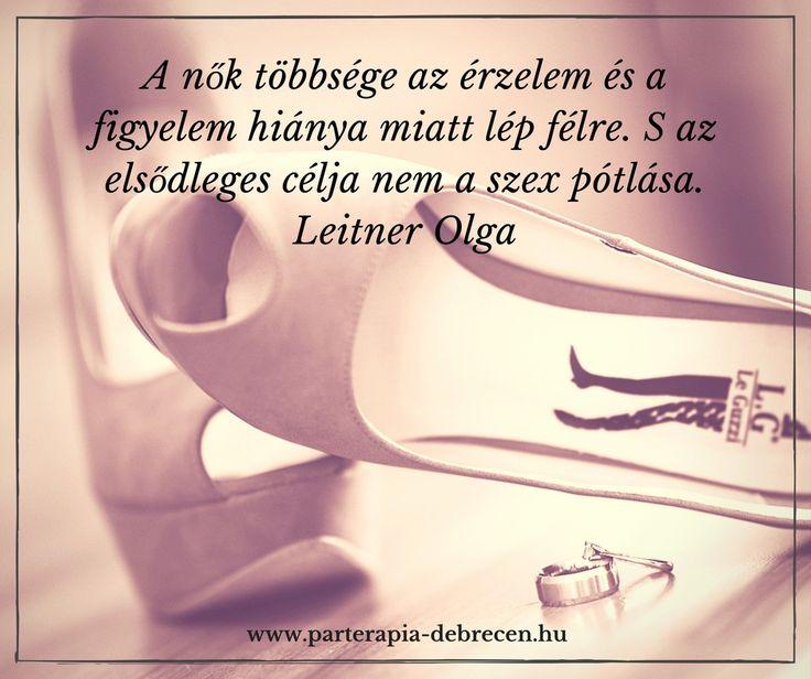 Leitner Olga, hűtlenség, félrelépés, párkapcsolat