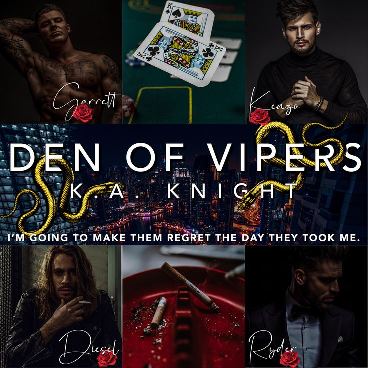 I love romance teaser alert den of vipers by katie