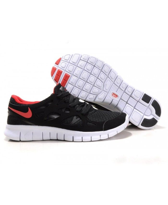 f25cde0cfee3e Nike Free Run 2 Mens UK Sale Anthracite Black Red White