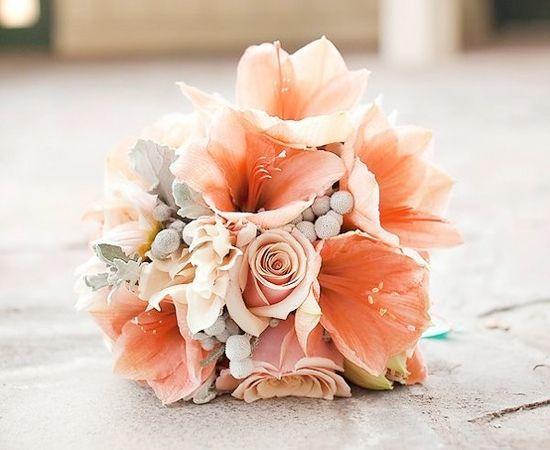 coral wedding bouquet001 wedding ideas wedding trends and wedding galleries