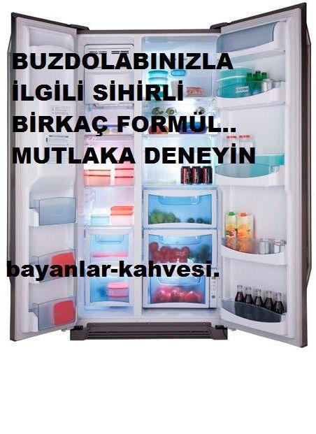 Buzdolabınız için sihirli birkaç formül…