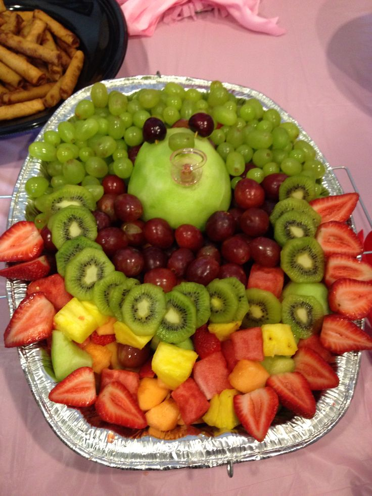 baby shower fruit on pinterest baby fruit baskets baby ...