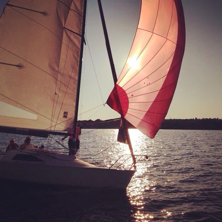 Wednesday night racing at Royal Victoria Yacht Club   Sailing