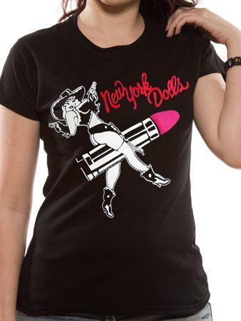 【楽天市場】【NEW YORK DOLLS】ロックTシャツ レディース バンドTシャツ レディース NEW YORK DOLLS Lipstick Cowgirl ニューヨーク ドールズ オフィシャル バンドTシャツ 【Girls-M】【レビュー書いたらメール便送料無料】:TOKYO ROXX