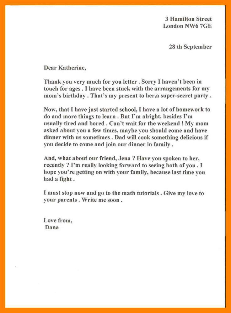 cover letter pattern