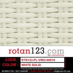 RTN123-PL-VIRO-00018 WHITE SOLID