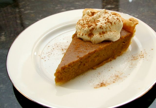 Delicious Brown Sugar and Cinnamon Butternut Squash Pie - I didn't have any pumpkin, but had leftover butternut squash - SO GOOD! Very similar to pumpkin pie, a tasty change :)