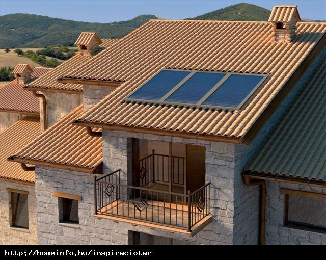 Mediterrán tető
