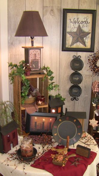 Shop for Country Decor | Silent Rooster Country Home Gift Shop Americana Home Decor ...