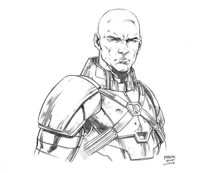Lex Luthor By Jason Fabok